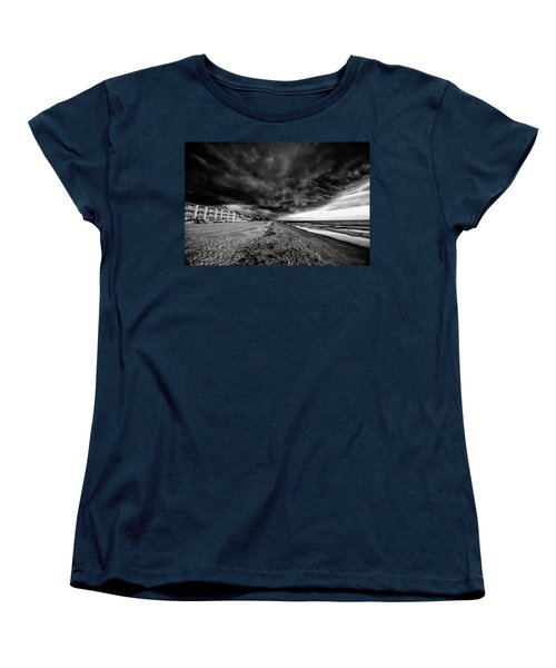 Storm Brewing Women's T-Shirt (Standard Cut) by Kevin Cable