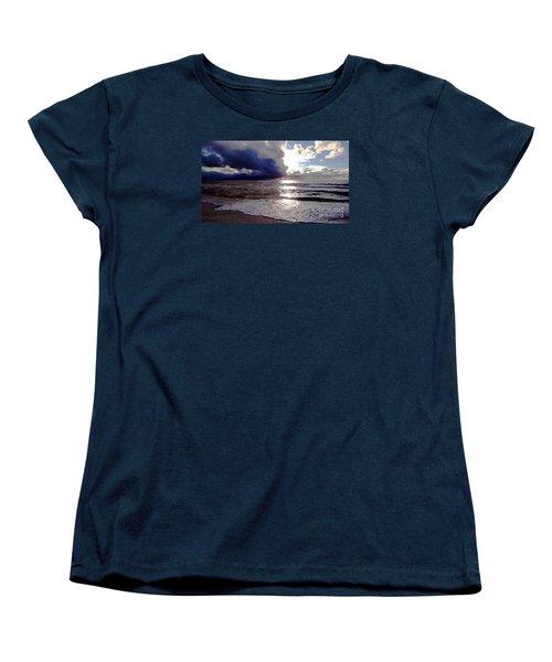 Storm Clouds 1 Women's T-Shirt (Standard Cut) by Vicky Tarcau