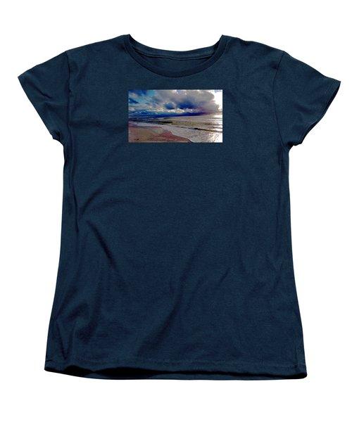 Storm Clouds Women's T-Shirt (Standard Cut) by Vicky Tarcau
