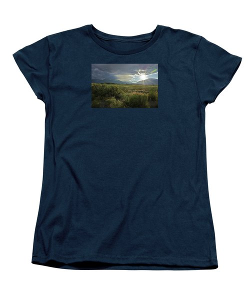 Storm Rays Women's T-Shirt (Standard Cut) by Matt Helm
