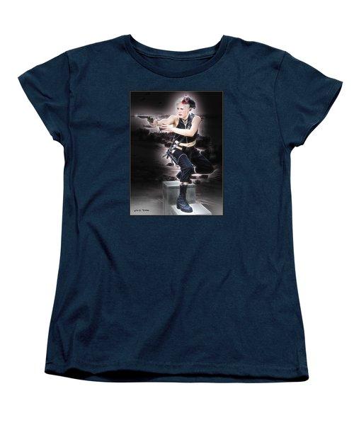 Storming The Beach Women's T-Shirt (Standard Cut)