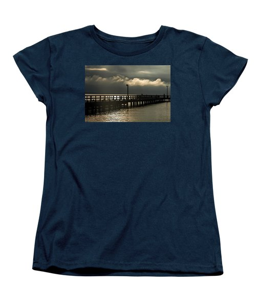 Storms Brewin' Women's T-Shirt (Standard Cut) by Clayton Bruster
