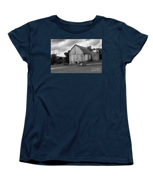 Stormy Barn Women's T-Shirt (Standard Cut) by Perry Webster