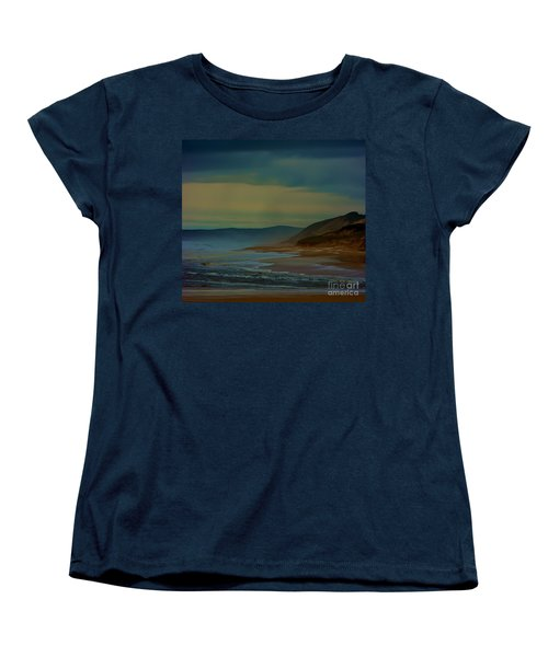 Women's T-Shirt (Standard Cut) featuring the photograph Stormy Morning by Blair Stuart