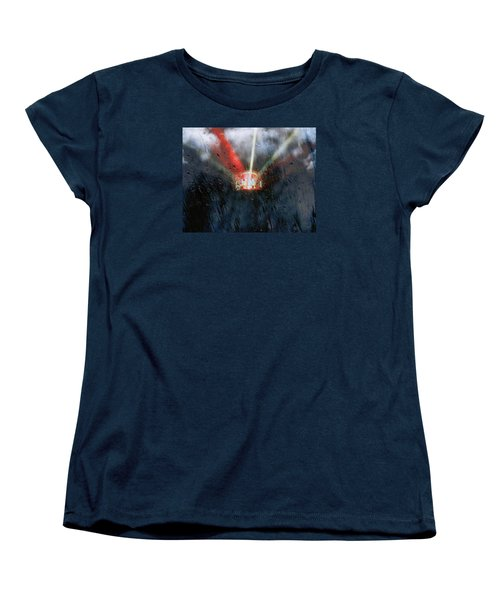 Women's T-Shirt (Standard Cut) featuring the photograph Stormy Weather by Nick Kloepping