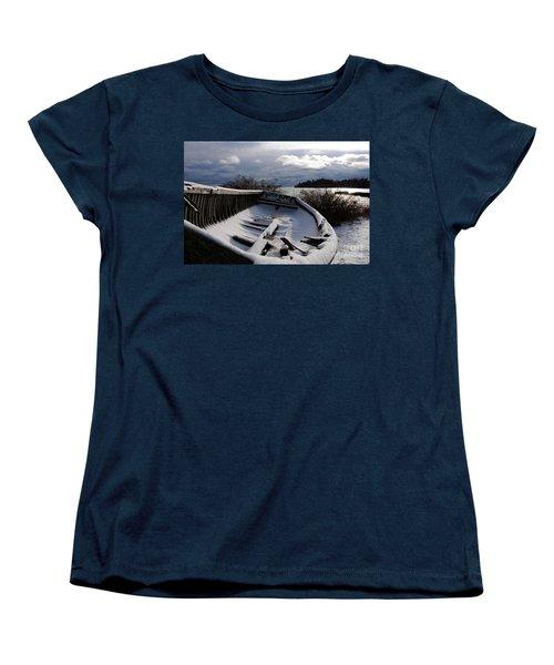 Stormy Weather Women's T-Shirt (Standard Cut) by Sandra Updyke
