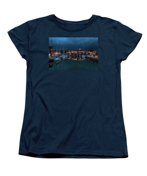 Stralsund At The Habor Women's T-Shirt (Standard Cut) by Martina Thompson