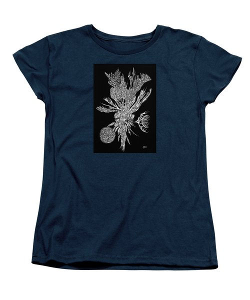 Bouquet Of Curiosity Women's T-Shirt (Standard Cut) by Charles Cater
