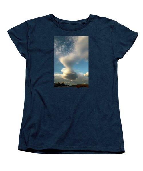 Strange Cloudform Women's T-Shirt (Standard Cut) by Nareeta Martin