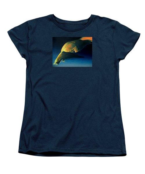 Strange Weather Women's T-Shirt (Standard Cut) by Vivien Rhyan