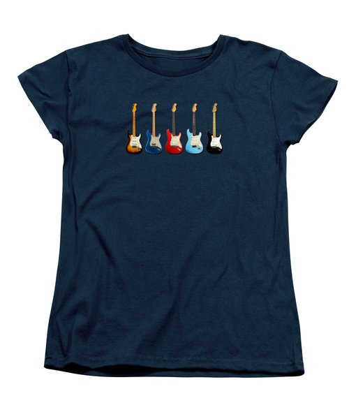 Stratocaster Women's T-Shirt (Standard Cut) by Mark Rogan