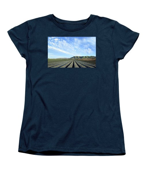Women's T-Shirt (Standard Cut) featuring the photograph Strawberry Fields Forever 2 by Floyd Snyder