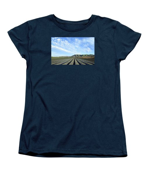 Women's T-Shirt (Standard Cut) featuring the photograph Strawberry Fields Forever 3 by Floyd Snyder