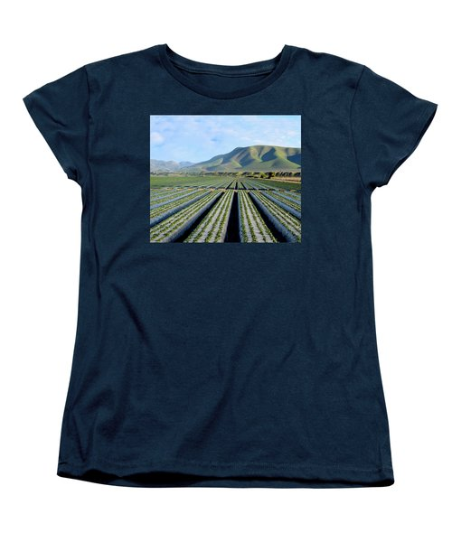 Women's T-Shirt (Standard Cut) featuring the photograph Strawberry Fields Forever by Floyd Snyder