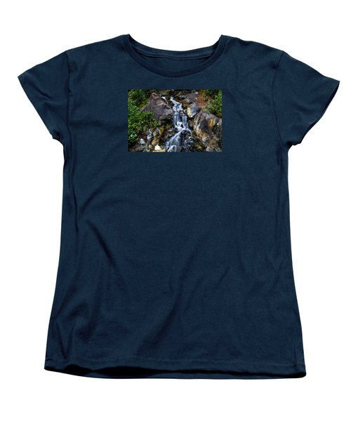 Women's T-Shirt (Standard Cut) featuring the photograph Stream by Keith Hawley