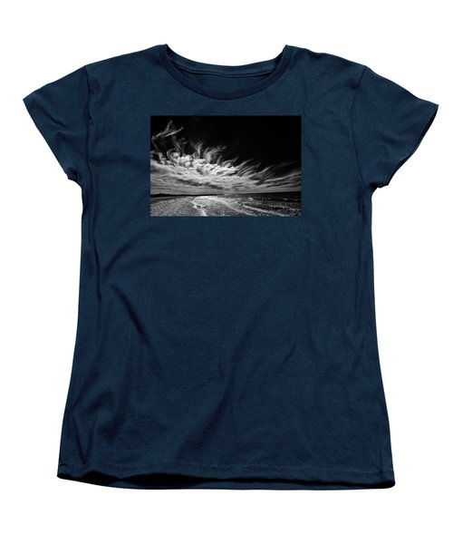 Streaming Clouds Women's T-Shirt (Standard Cut) by Kevin Cable