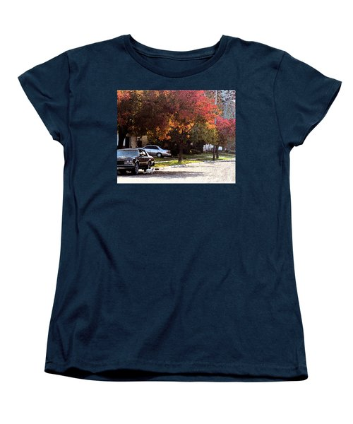 Street Cat Women's T-Shirt (Standard Cut)