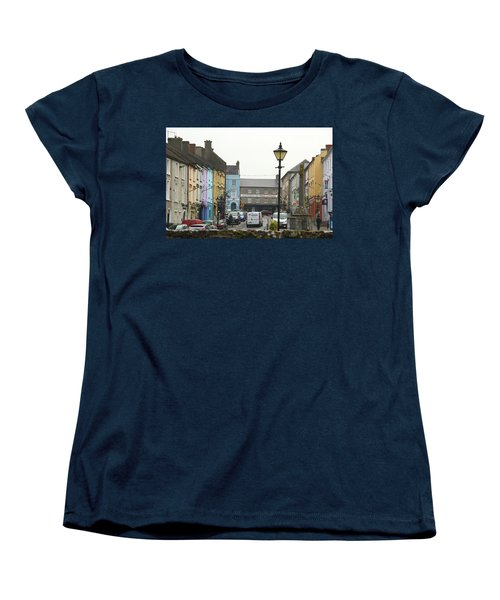 Women's T-Shirt (Standard Cut) featuring the photograph Streets Of Cahir by Marie Leslie