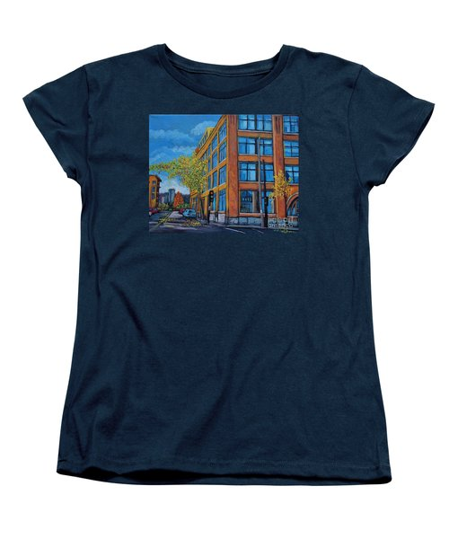 Street Study Montreal Women's T-Shirt (Standard Cut) by Reb Frost