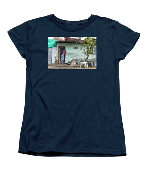 Streets Of Kochi Women's T-Shirt (Standard Cut) by Marion Galt