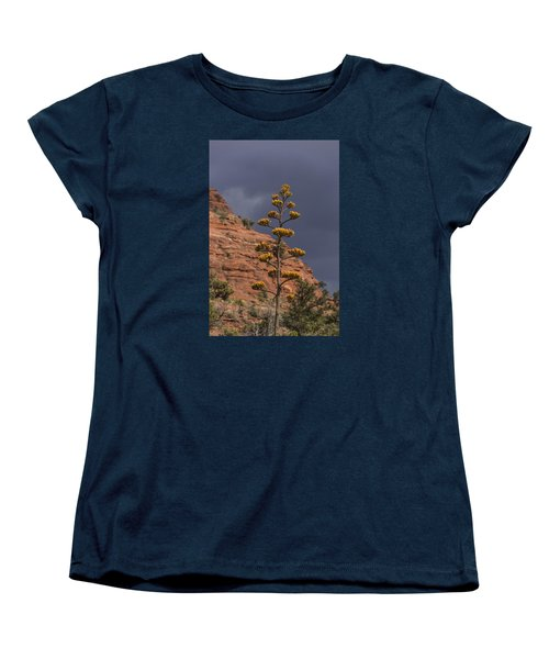Stretching Into A Threatening Sky Women's T-Shirt (Standard Cut) by Laura Pratt