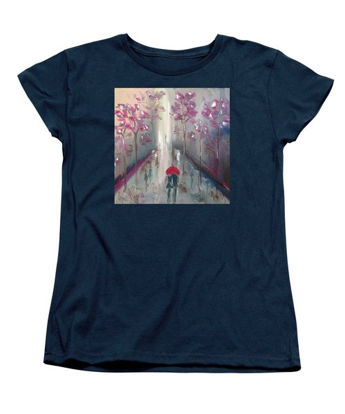 Strolling Women's T-Shirt (Standard Cut) by Roxy Rich