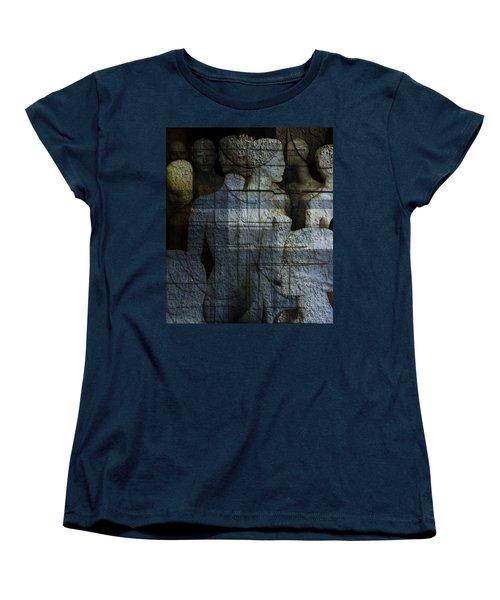 Strong, Fearless, Beautiful  Women's T-Shirt (Standard Cut) by Danica Radman