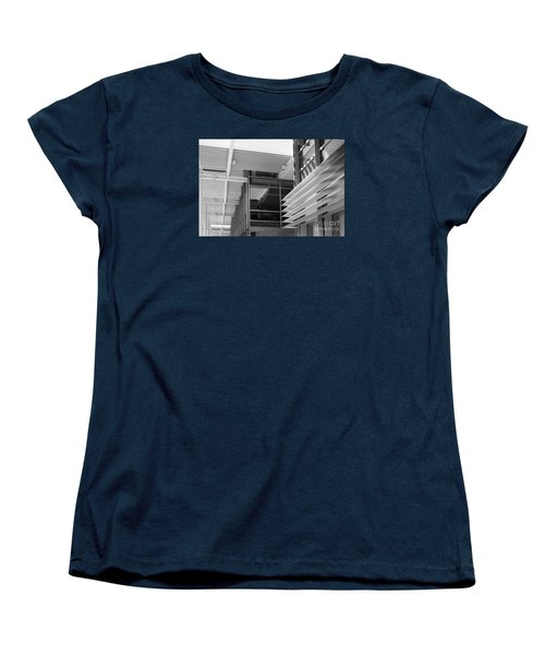 Women's T-Shirt (Standard Cut) featuring the photograph Structure Abstract 1 by Cheryl Del Toro