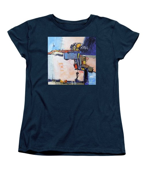 Structured Women's T-Shirt (Standard Cut) by Ron Stephens