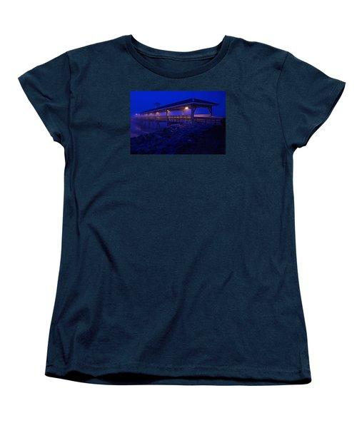 Once In A Blue Mood Women's T-Shirt (Standard Cut) by Laura Ragland