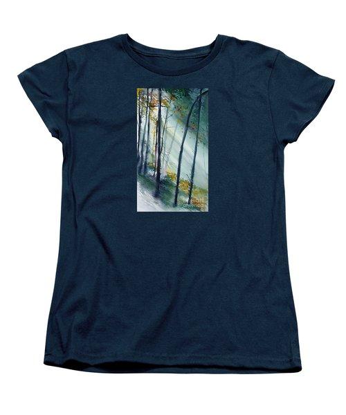 Study The Trees Women's T-Shirt (Standard Cut)