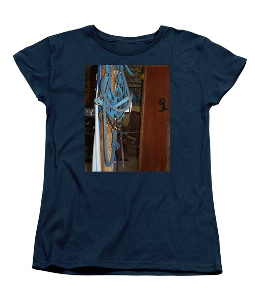 Stuff In The Barn Women's T-Shirt (Standard Cut) by Roena King