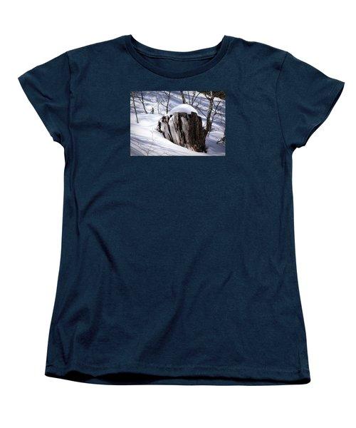 Stump Women's T-Shirt (Standard Cut) by Elaine Malott