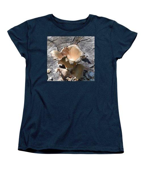 Stump Mushroom I Women's T-Shirt (Standard Cut)