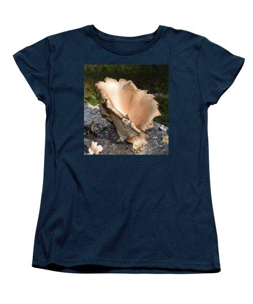 Stump Mushroom  Women's T-Shirt (Standard Cut)