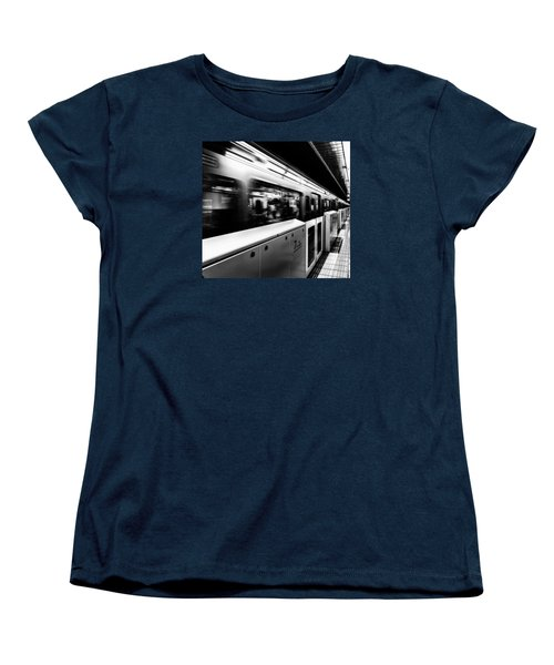 Women's T-Shirt (Standard Cut) featuring the photograph Subway by Hayato Matsumoto