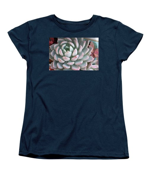 Women's T-Shirt (Standard Cut) featuring the photograph Succulent Beauty by Catherine Lau