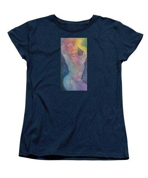 Suffering Bodhisattva Women's T-Shirt (Standard Cut) by Theresa Marie Johnson