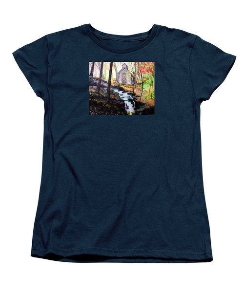Sugar Shack Women's T-Shirt (Standard Cut) by Tom Riggs