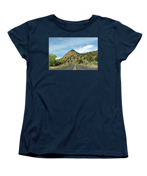 Women's T-Shirt (Standard Cut) featuring the photograph Sugarloaf Mountain In Six Mile Canyon by Benanne Stiens