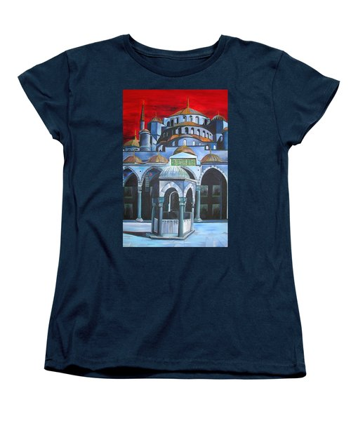 Sultan Ahmed Mosque Istanbul Women's T-Shirt (Standard Cut)