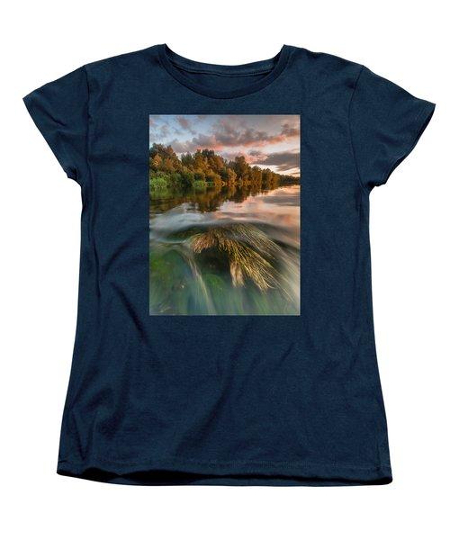Summer Afternoon Women's T-Shirt (Standard Cut) by Davorin Mance
