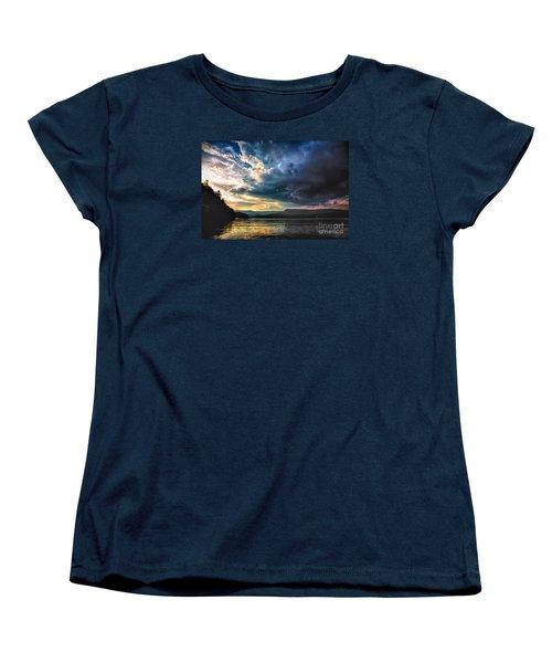 Summer At Lake James Women's T-Shirt (Standard Cut) by Robert Loe