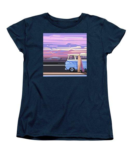 Summer Women's T-Shirt (Standard Cut) by Bekim Art