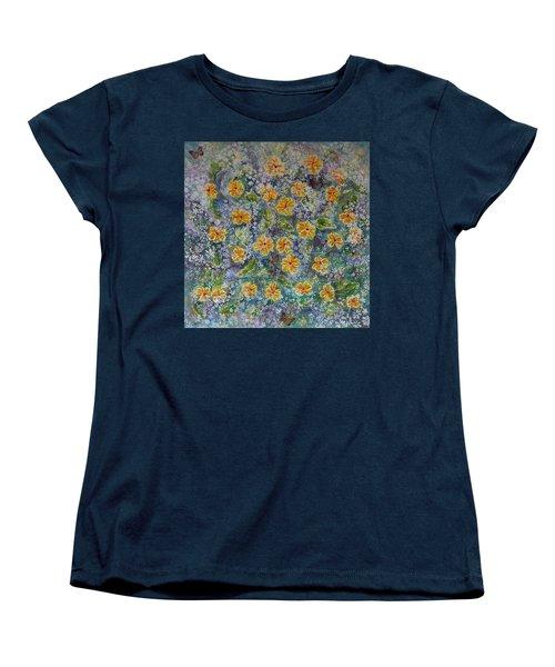 Spring Bouquet Women's T-Shirt (Standard Cut) by Theresa Marie Johnson