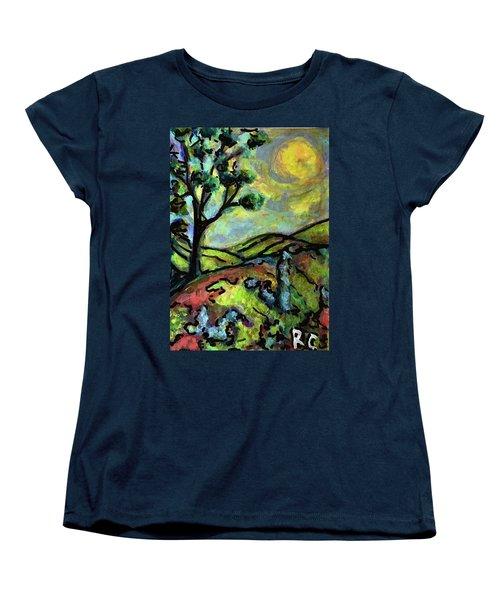 Summer Day Women's T-Shirt (Standard Cut) by Rae Chichilnitsky