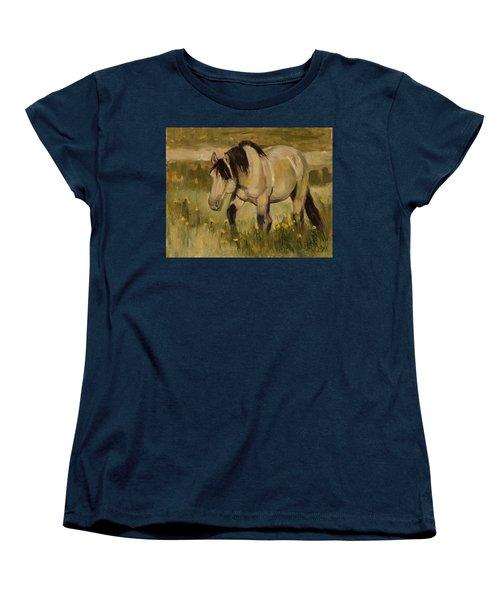 Summer Days Women's T-Shirt (Standard Cut) by Billie Colson