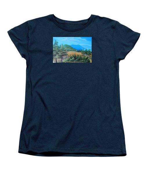 Summer Fields 2 Women's T-Shirt (Standard Cut) by Remegio Onia