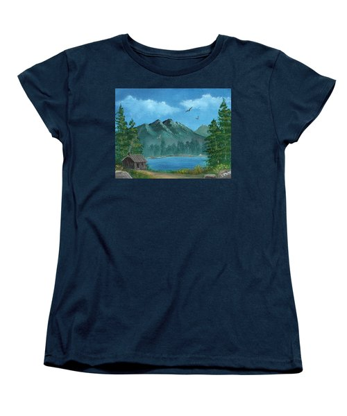 Summer In The Mountains Women's T-Shirt (Standard Cut) by Sheri Keith