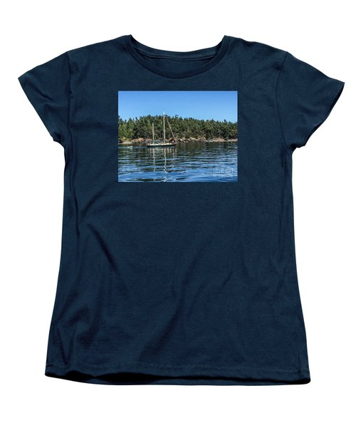 Women's T-Shirt (Standard Cut) featuring the photograph Summer In The San Juan's by William Wyckoff